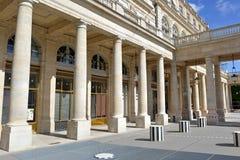 Palais Royale, Paris, Frankrike Royaltyfri Bild