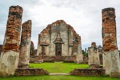 Palais ruiné par Narai du Roi photos libres de droits
