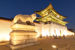 Palais Séoul Corée de Geongbokgung Images stock