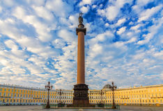 Palais St Petersburg carré, Russie Photos stock