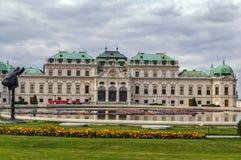 Palais supérieur de belvédère vienne photos libres de droits