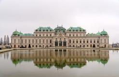 Palais supérieur de belvédère, Vienne, Autriche photographie stock libre de droits