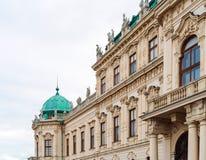 Palais supérieur 1717-1723, Vienne, Autriche de belvédère Photos libres de droits