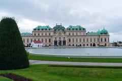 Palais supérieur 1717-1723, Vienne, Autriche de belvédère Image libre de droits