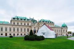Palais supérieur 1717-1723, Vienne, Autriche de belvédère Image stock
