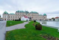 Palais supérieur 1717-1723, Vienne, Autriche de belvédère Images libres de droits