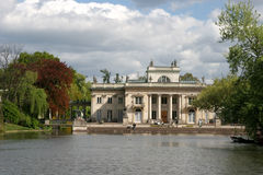 Palais sur l'eau Image stock