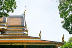 Palais thaïlandais de toit, Sanam Chan Palace, Nakhon Pathom, Thaïlande Photographie stock