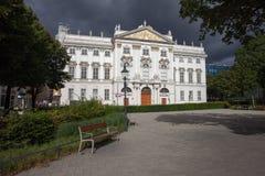 Palais Trautson in città di Vienna Immagine Stock Libera da Diritti