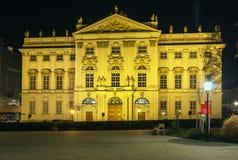 Palais Trautson, Wiedeń Obrazy Royalty Free