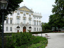 Palais Trautson Wiedeń Zdjęcie Stock