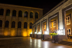 Palais trier gemany at night Stock Photos