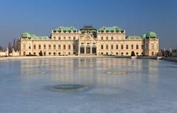 Palais Vienne, Autriche de belvédère photographie stock