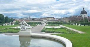 Palais Vienne Autriche de belvédère image libre de droits
