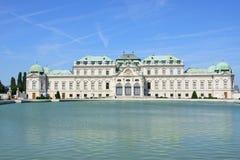 Palais Vienne Autriche de belvédère image stock