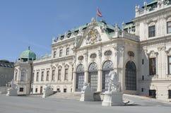 Palais Vienne Autriche l'Europe de belvédère image libre de droits