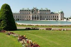 Palais Vienne de belvédère image stock