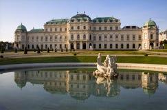 palais Vienne de belvédère image libre de droits