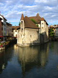 Palaise d'Isle in Annecy, France Stock Photo