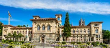 Palaisen de Rumine i Lausanne Royaltyfri Foto