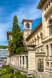 Palaisen de Rumine i Lausanne Arkivbilder