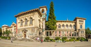 Palaisen de Rumine i Lausanne royaltyfria bilder