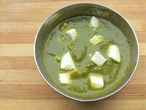 Palak Paneer Royalty Free Stock Images