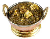 Palak paneer Royalty Free Stock Photos