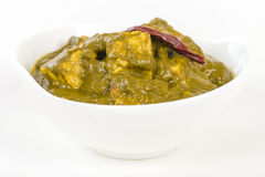 Palak Paneer Royalty Free Stock Photo