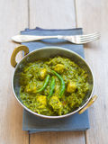 Palak paneer (Indian cuisine) Stock Photos
