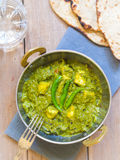 Palak paneer (Indian cuisine) Royalty Free Stock Images