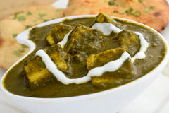 Palak Paneer Royalty Free Stock Photography