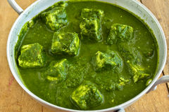 Palak Paneer Stock Photos