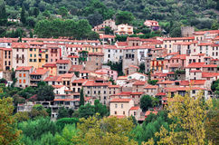 Palalda in Pyrenees-Orientales, Languedoc-Roussillon,. France Stock Photo