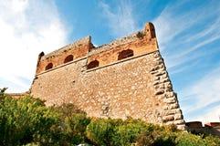 Palamidi城堡在Nafplio 图库摄影