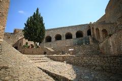 Palamidi堡垒在Nafplion,希腊 免版税图库摄影