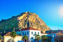 Old town of Nafplion in Greece royalty free stock image
