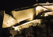 Palamidi castle at Nafplio city, Greece Royalty Free Stock Photography