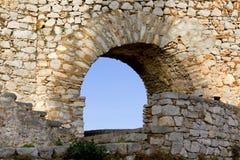 Palamidi castle of Nafplio city at Greece Stock Images