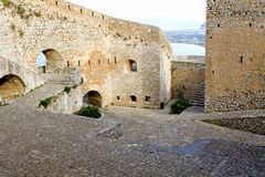 Palamidi castle at Nafplio city, Greece Stock Photo