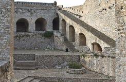 Palamidi castle at Nafplio city, Greece Royalty Free Stock Photography