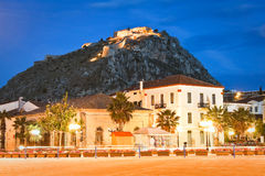 Palamidi castle in Nafplio, Greece. Royalty Free Stock Photos