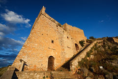 Palamidi Castle, Nafplio. Royalty Free Stock Image