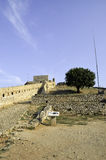 Palamidi Castle in Nafplion Royalty Free Stock Photography