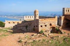 Palamidi fortress in Nafplio Stock Photo