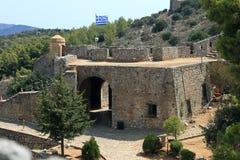 Palamidi Fortress in Nafplion, Greece. Palamidi Fortress in Nafplion, Argolis Peloponnese, Greece royalty free stock image