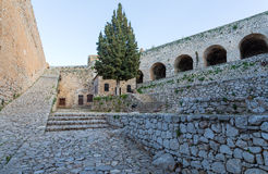 Palamidi fortress in Nafplio, Greece Stock Images