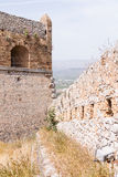 Palamidi medieval fortress, Nafplio, Greece Royalty Free Stock Image