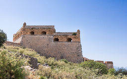 Palamidi medieval fortress  Nafplio, Greece Royalty Free Stock Photography