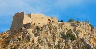 Palamidi, nafplio, Grèce Photographie stock libre de droits